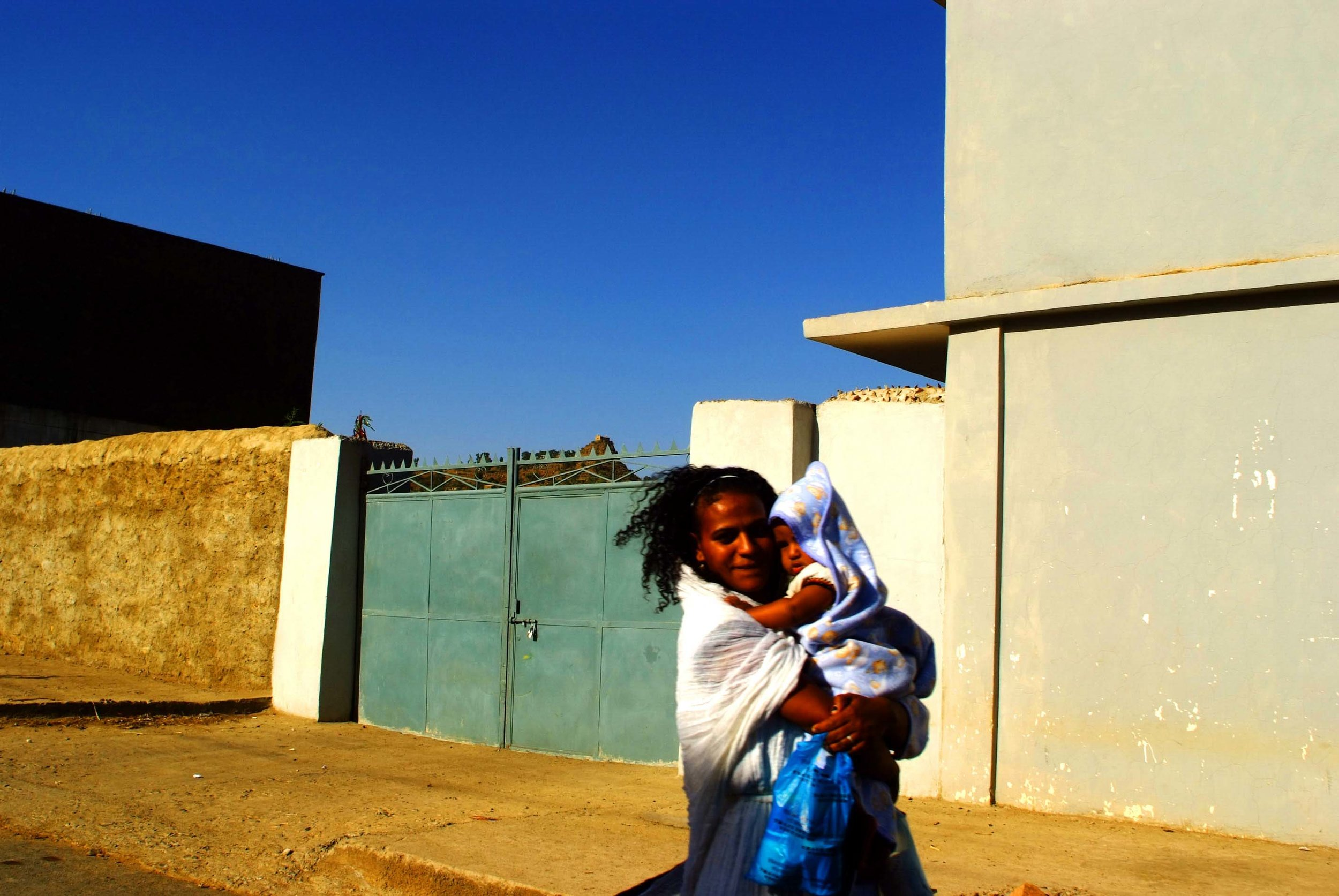 """Woman and child"" Axum, Ethiopia"