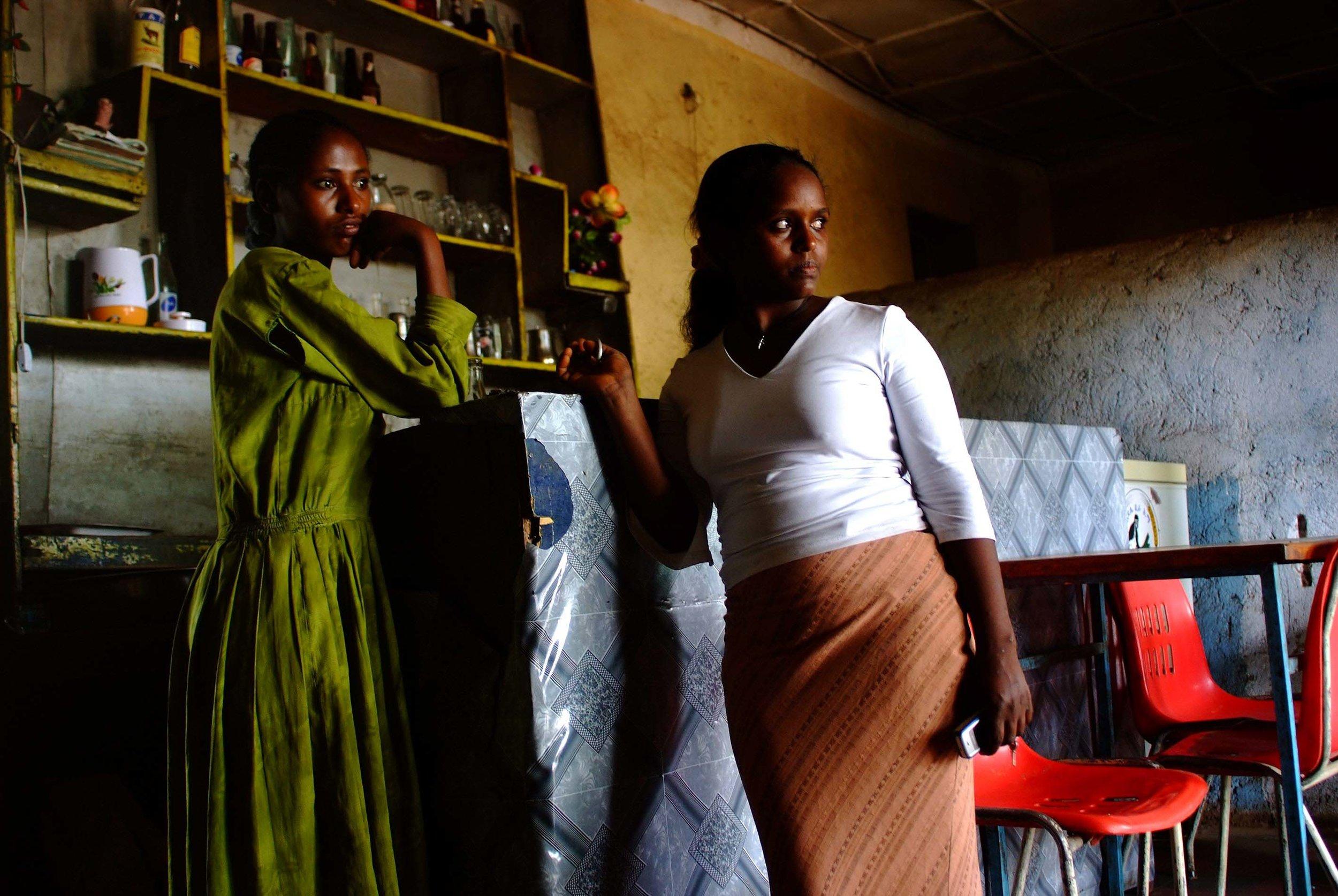 """""""The look forward"""" Gondor, Ethiopia"""