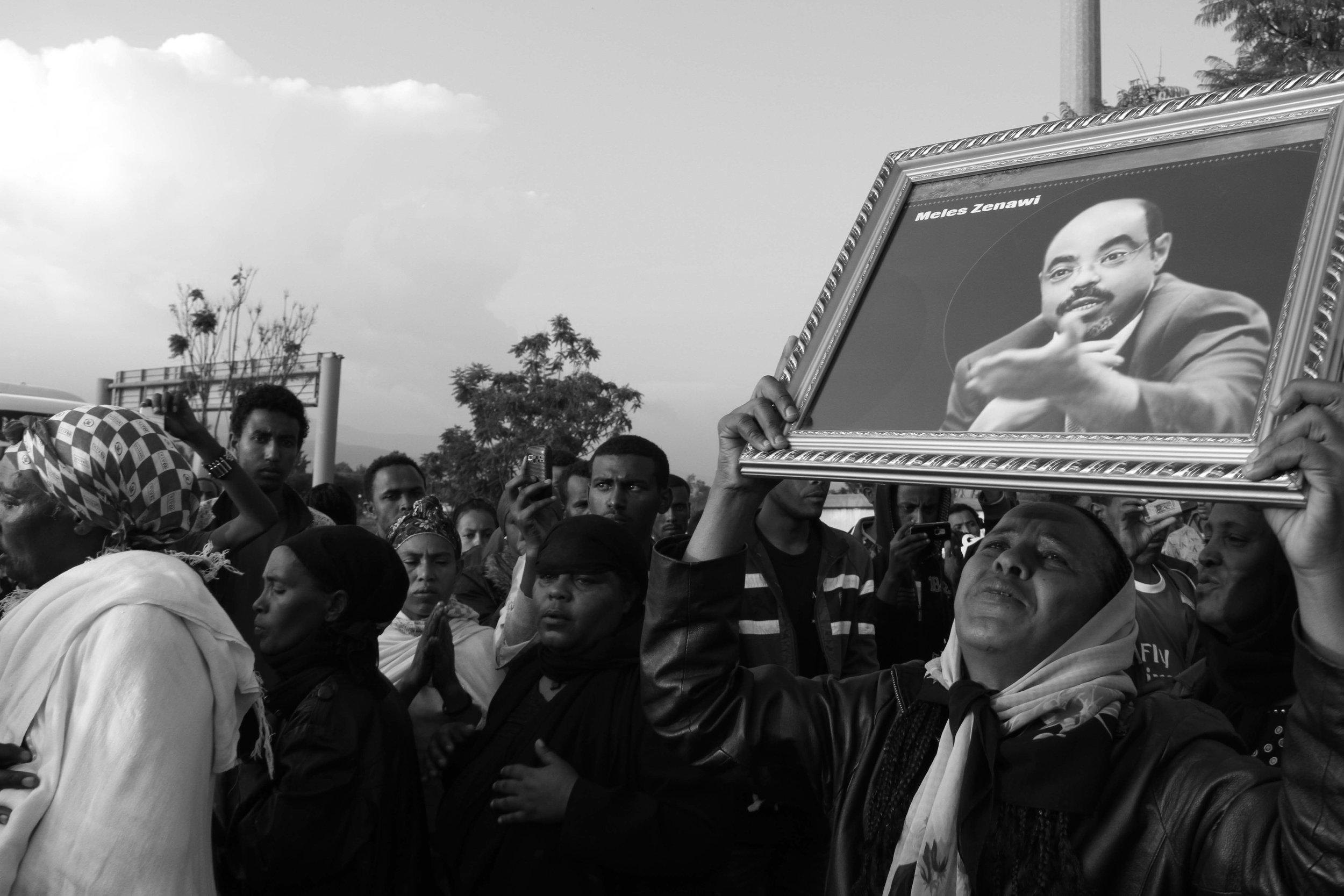 """The death of Melese"" Addis Ababa, Ethiopia"