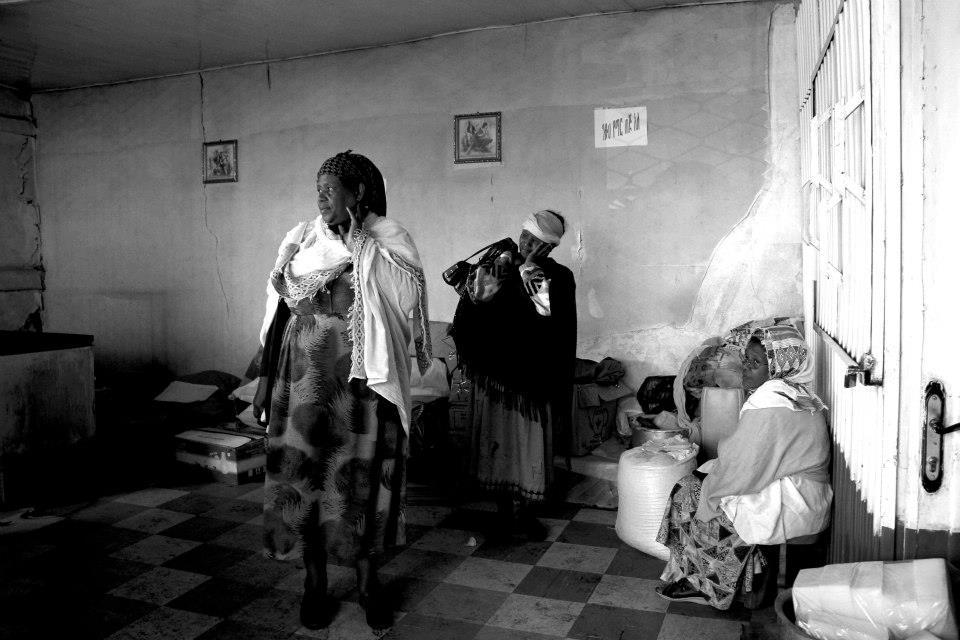 """Fire in Piassa"" Addis Ababa, Ethiopia"