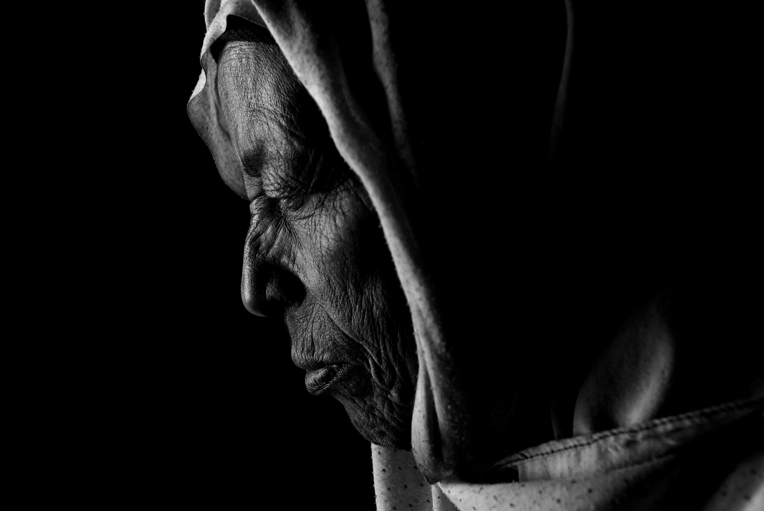 """Woman at the doorway"" Dese, Welo, Ethiopia"