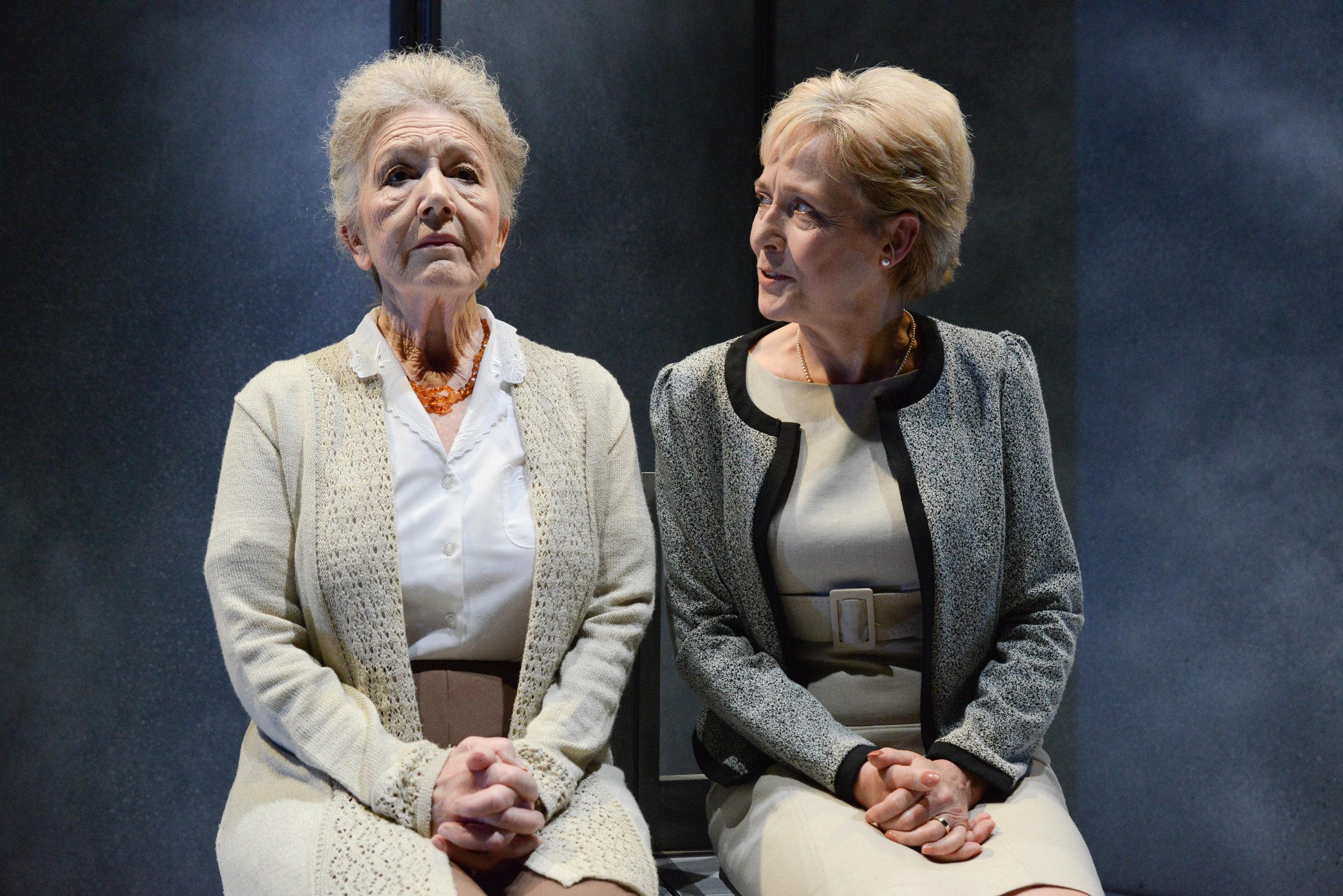 Tina Gray (Maria) and Kate Spiro (Ewa) 1 - Silence - Photo by Robert Day.jpg