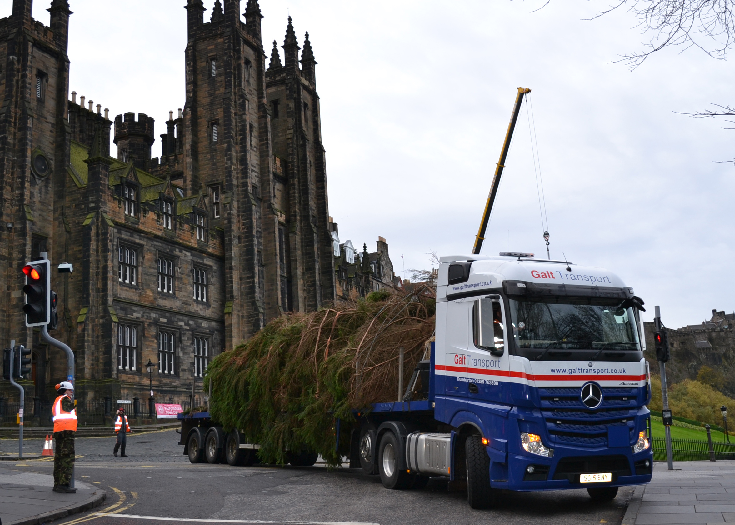 Edinburgh abnormal load