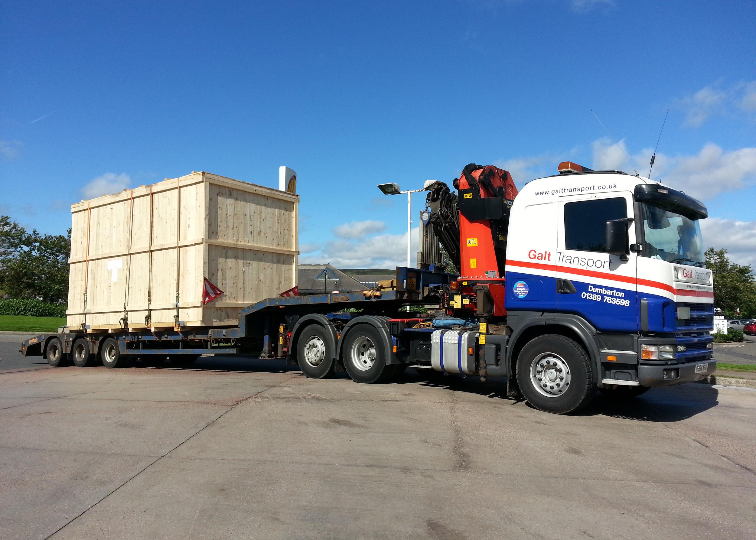 Semi-low loader