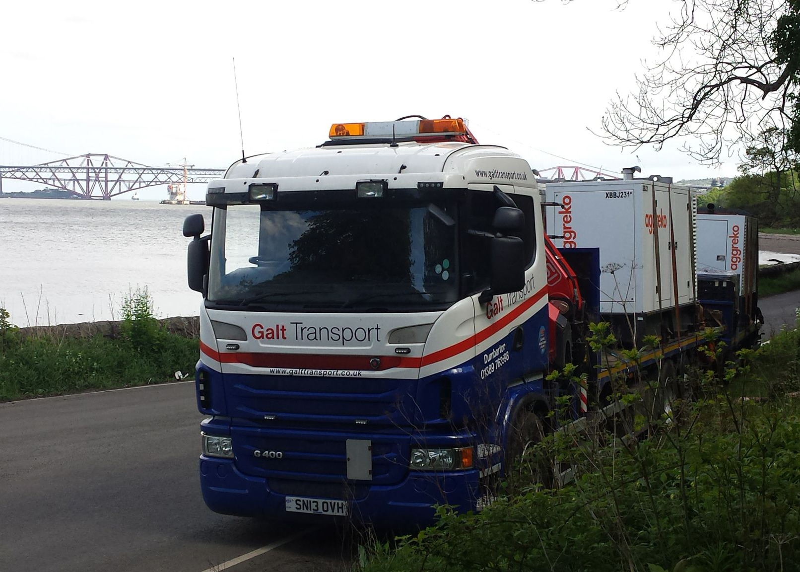 Generator transport Scotland