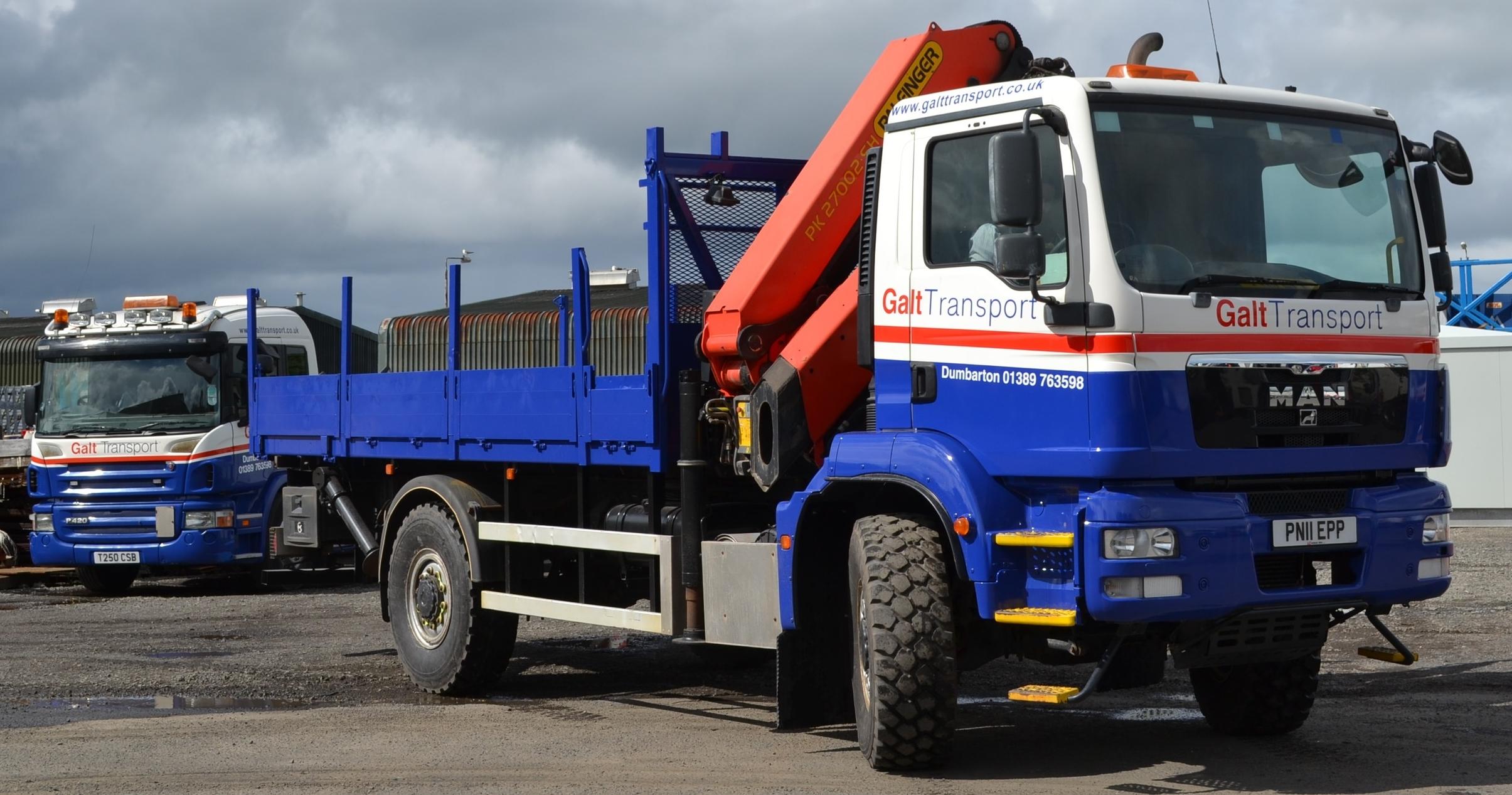 Galt Transport's new off-road vehicle