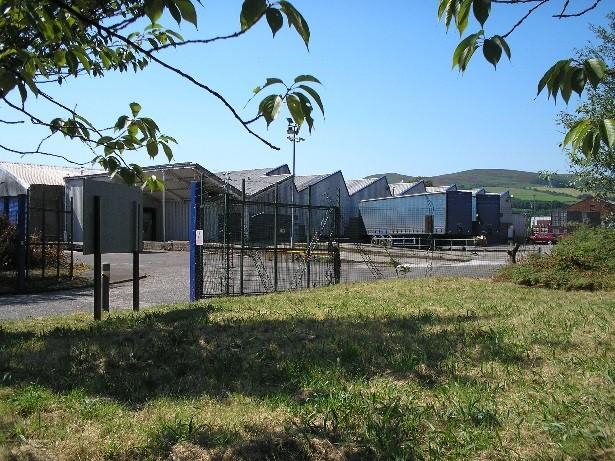 industrial storage in central scotland