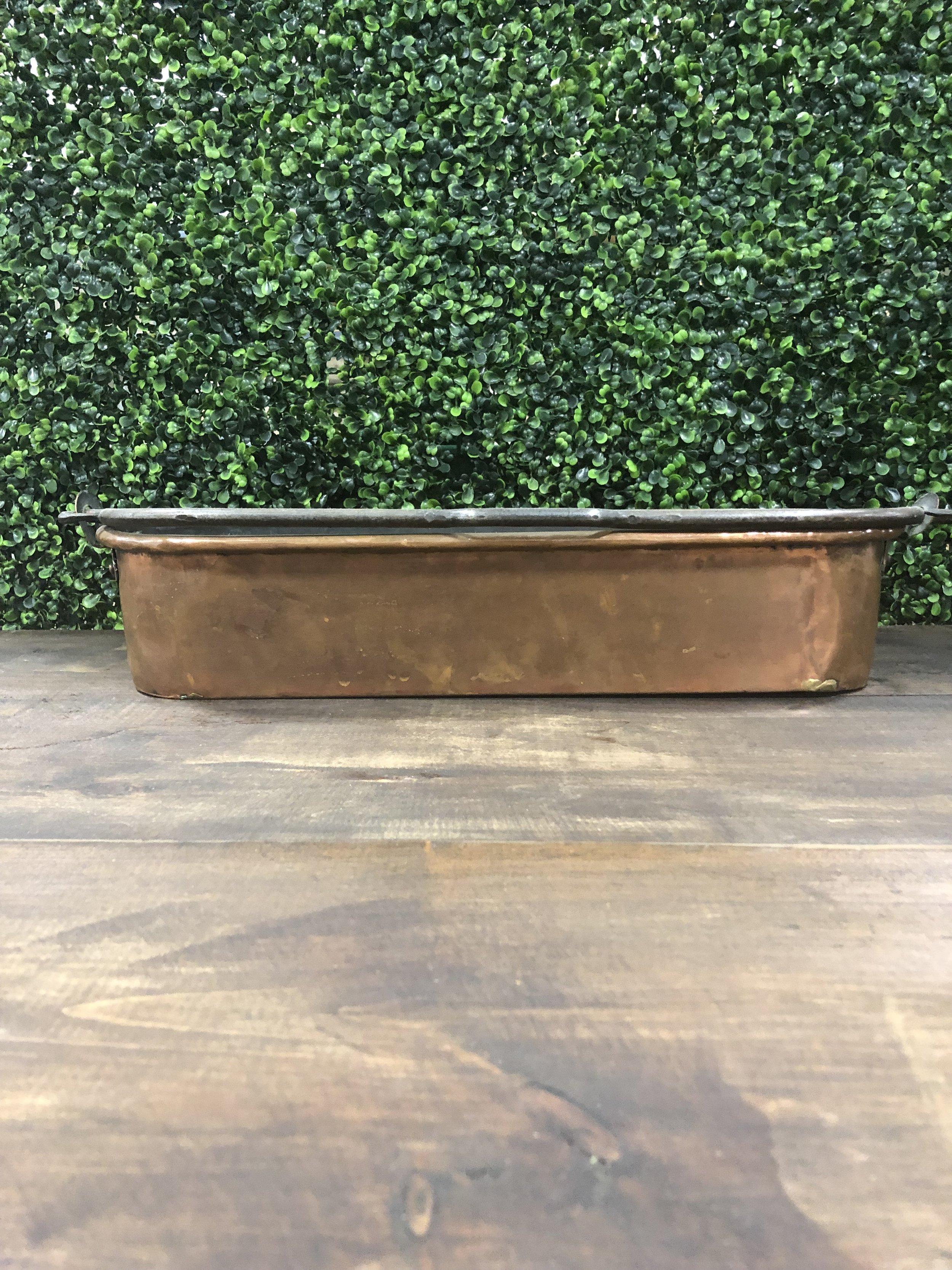 Long Copper Pan