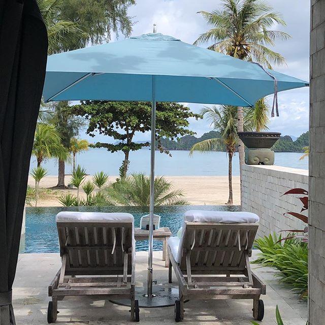 Poolside in Paradise #langkawi #malaysia #fslangkawi