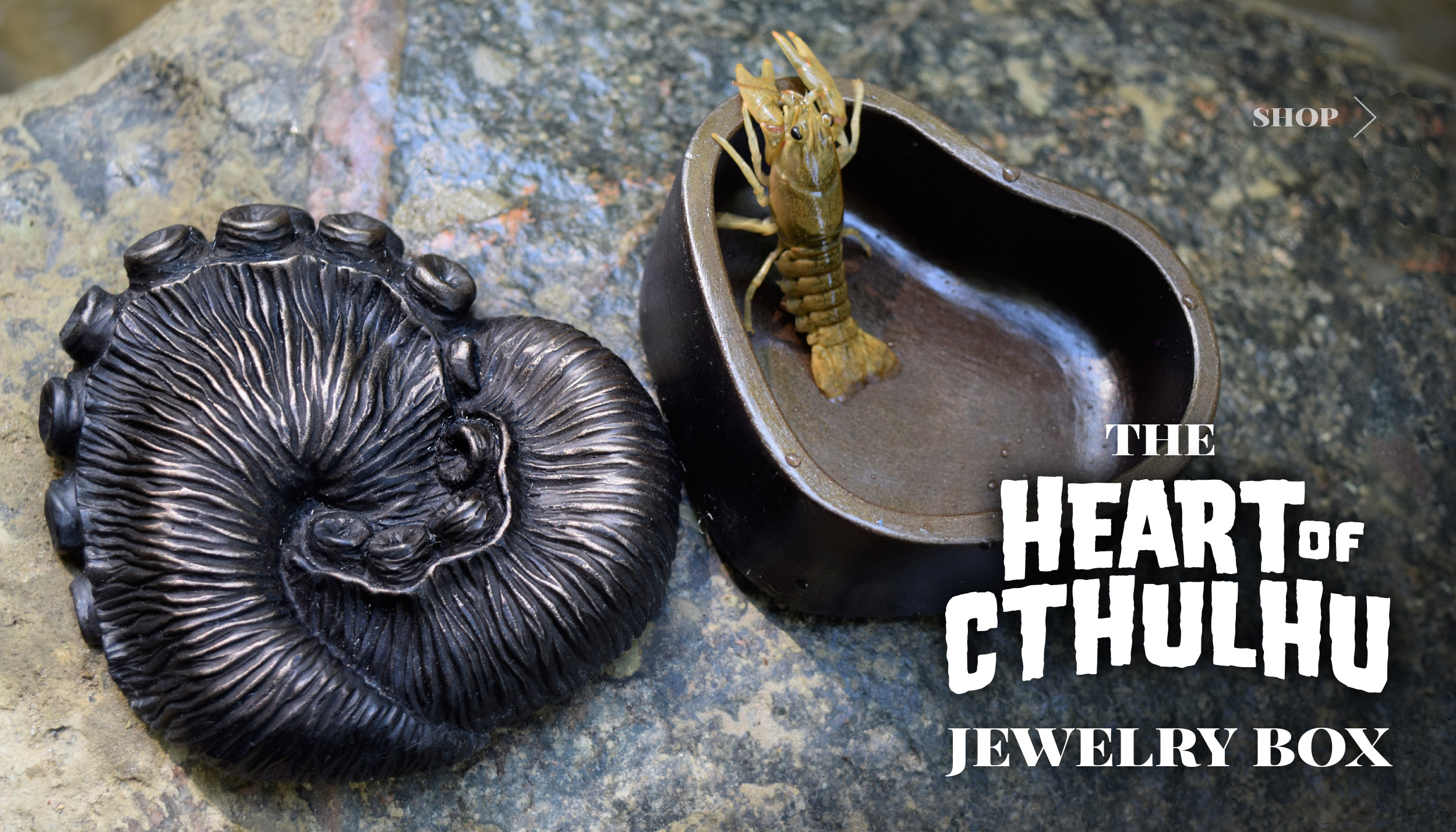 Heart of Cthulhu Jewelry Box