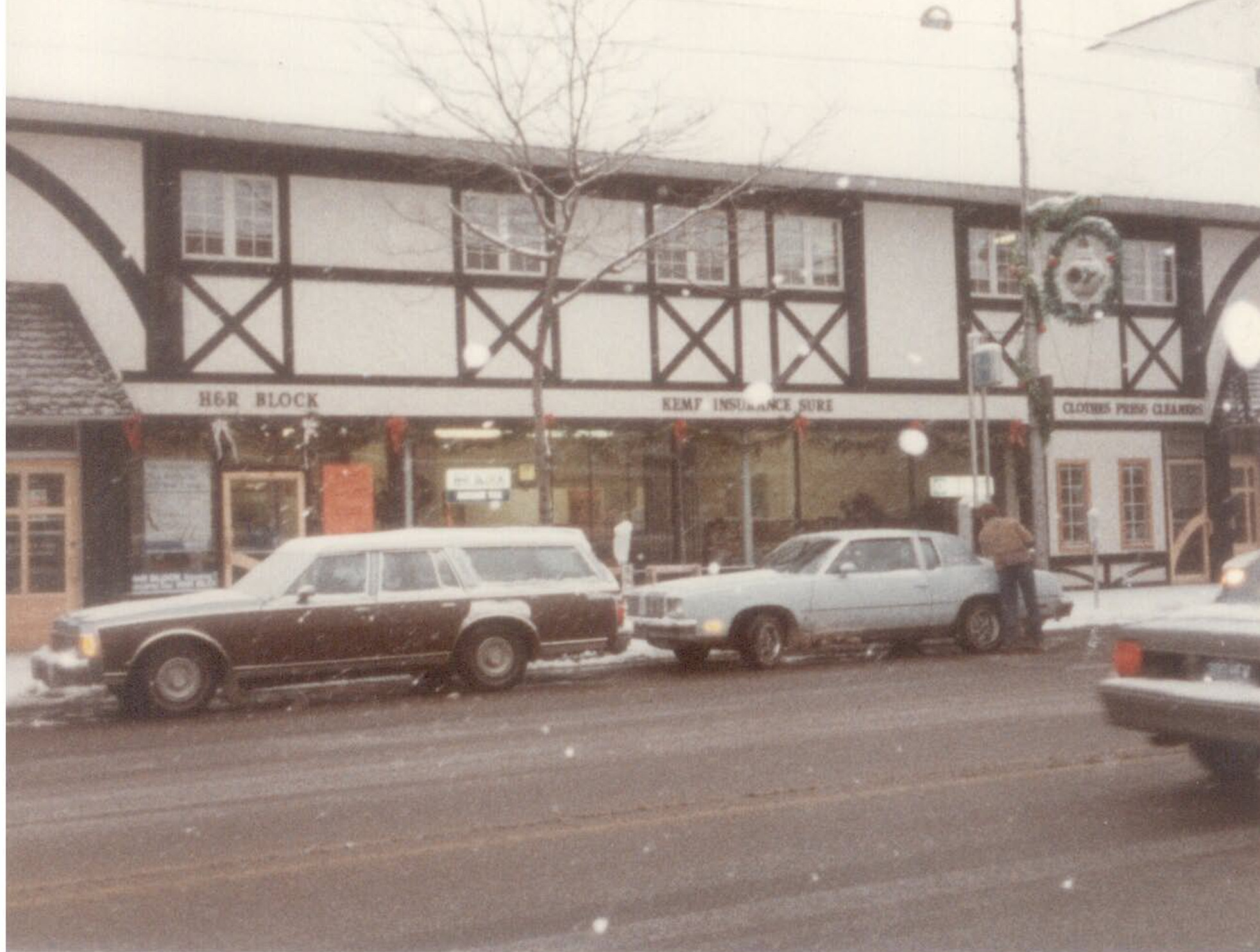 Kemp Insurance 311 S. Lafayette after facade renovation 1983.
