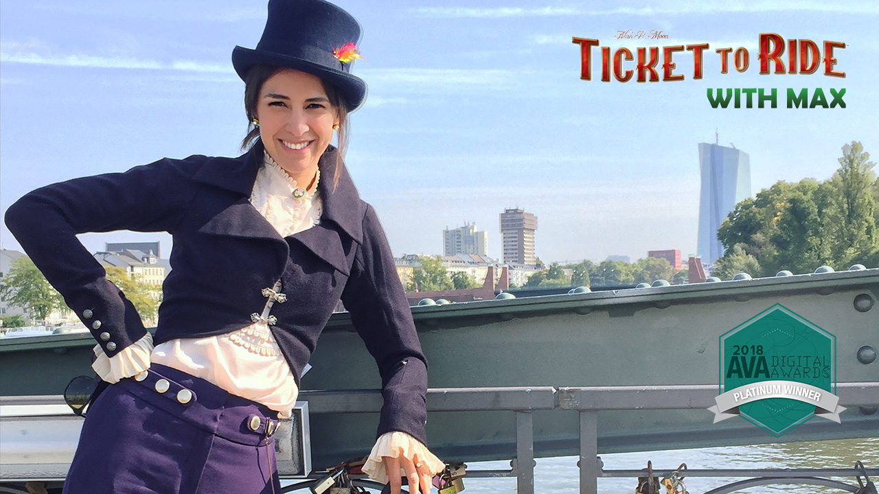 Asmodee - Ticket to Ride with Max
