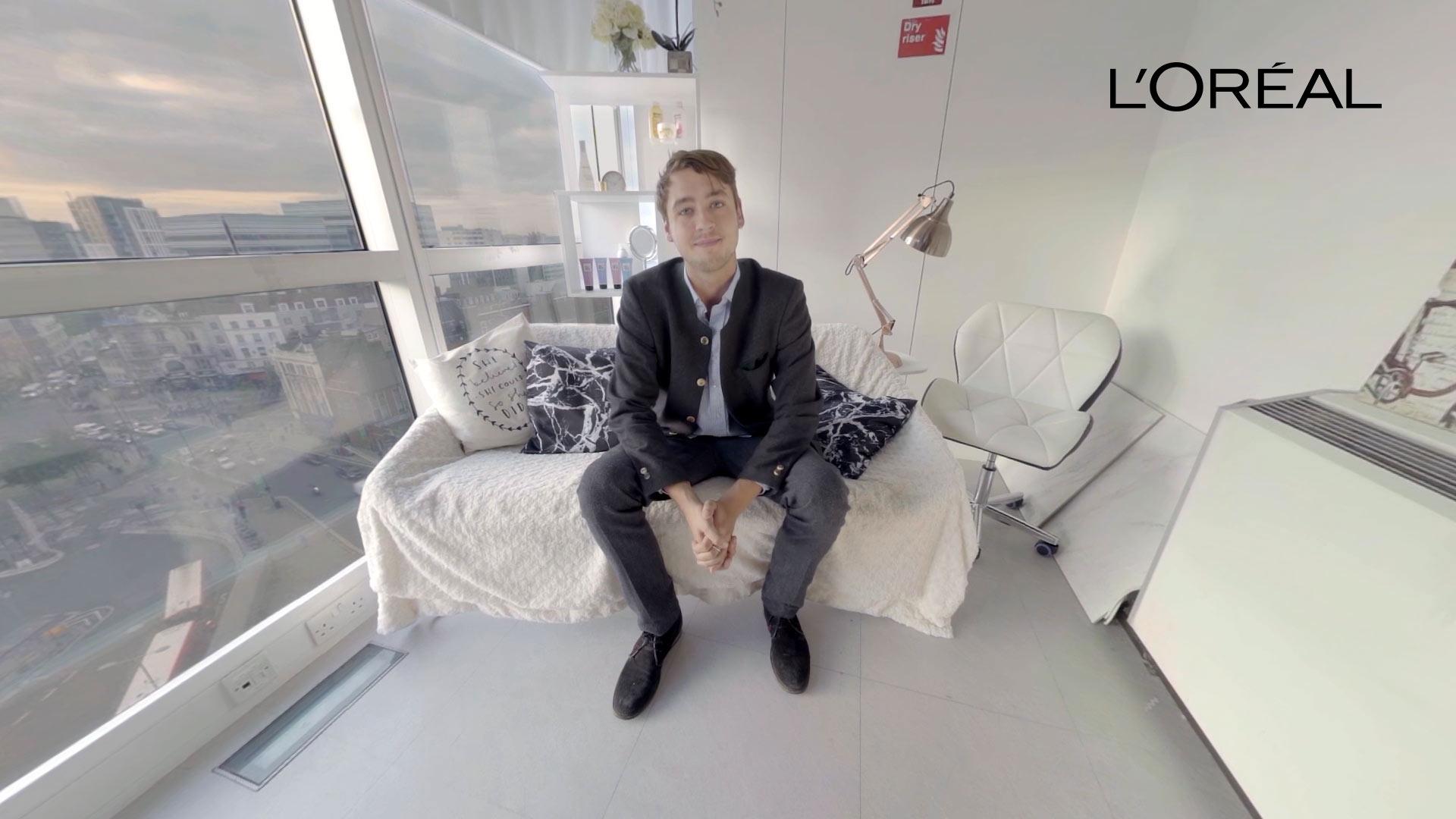 L'Oréal VR Recruitment Experience