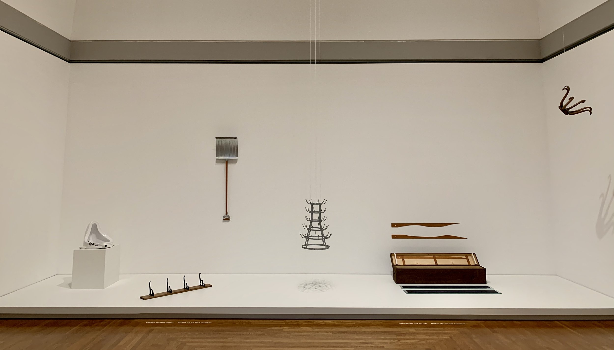Marcel Duchamp's finest Readymades. A great surprise!