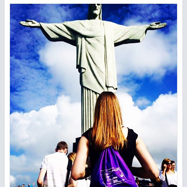 """Thanks to Aislinn for this inspiring shot from her last tour!! """"HelenaFigureSkatingClub makes it to Rio De Janeiro. Oh the places you'll go if you work hard. #neverforgetyourroots""""- Aislinn M"""