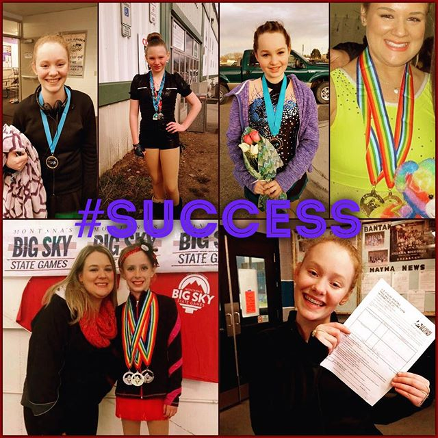 Always successful! Celebrating a great HFSC weekend! Ice Breaker-check. Learn to Skate Classes- check. Great work team!! #icebreaker2015 #helenafigurekating #usfsa