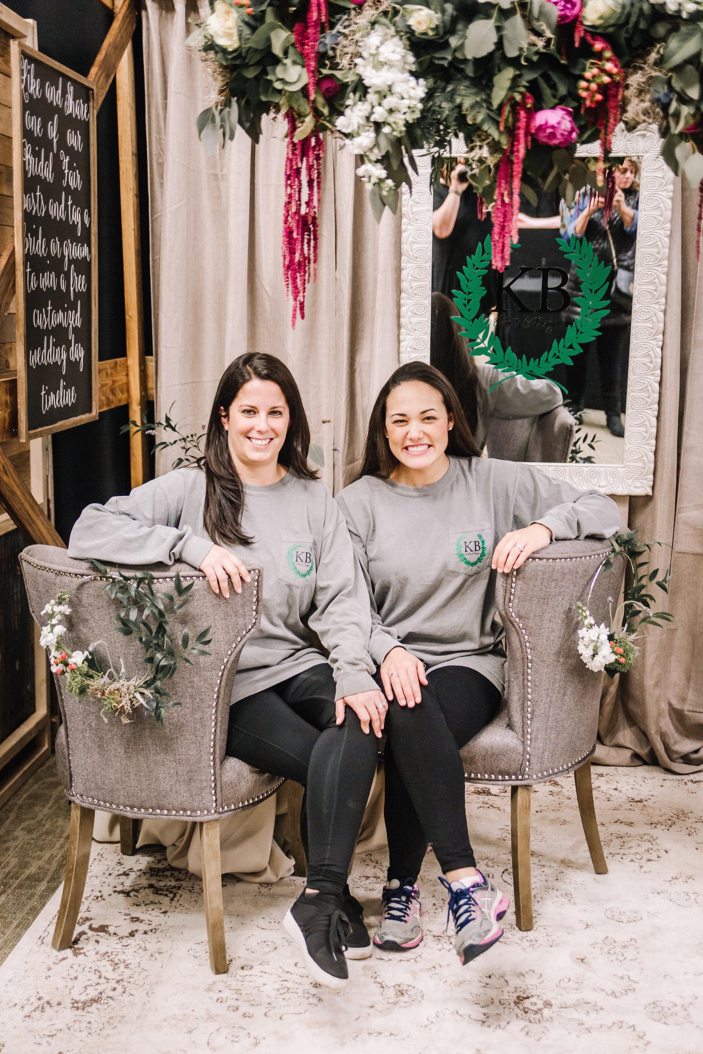 Meet Kacey and Blair, the beautiful gals from KB Events & Design -