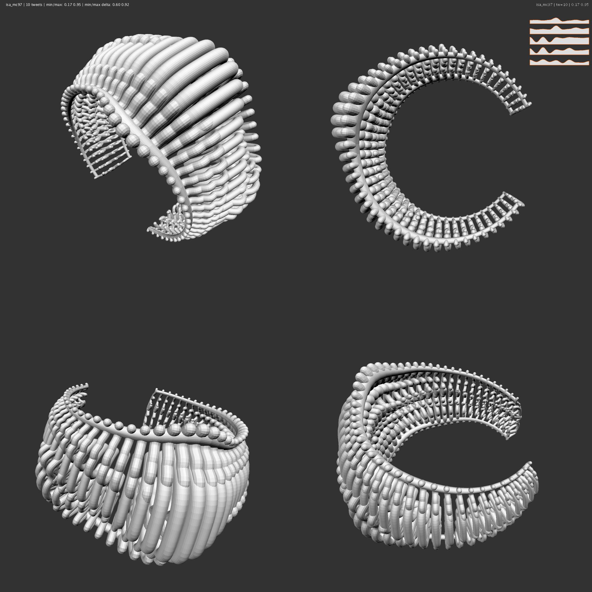 Bracelet Design for Ruffmercy (by Gannon/Watz)