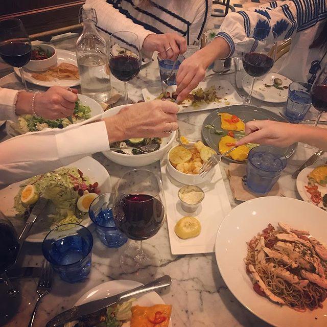 All forks on deck #fridaynight #eloisenichols