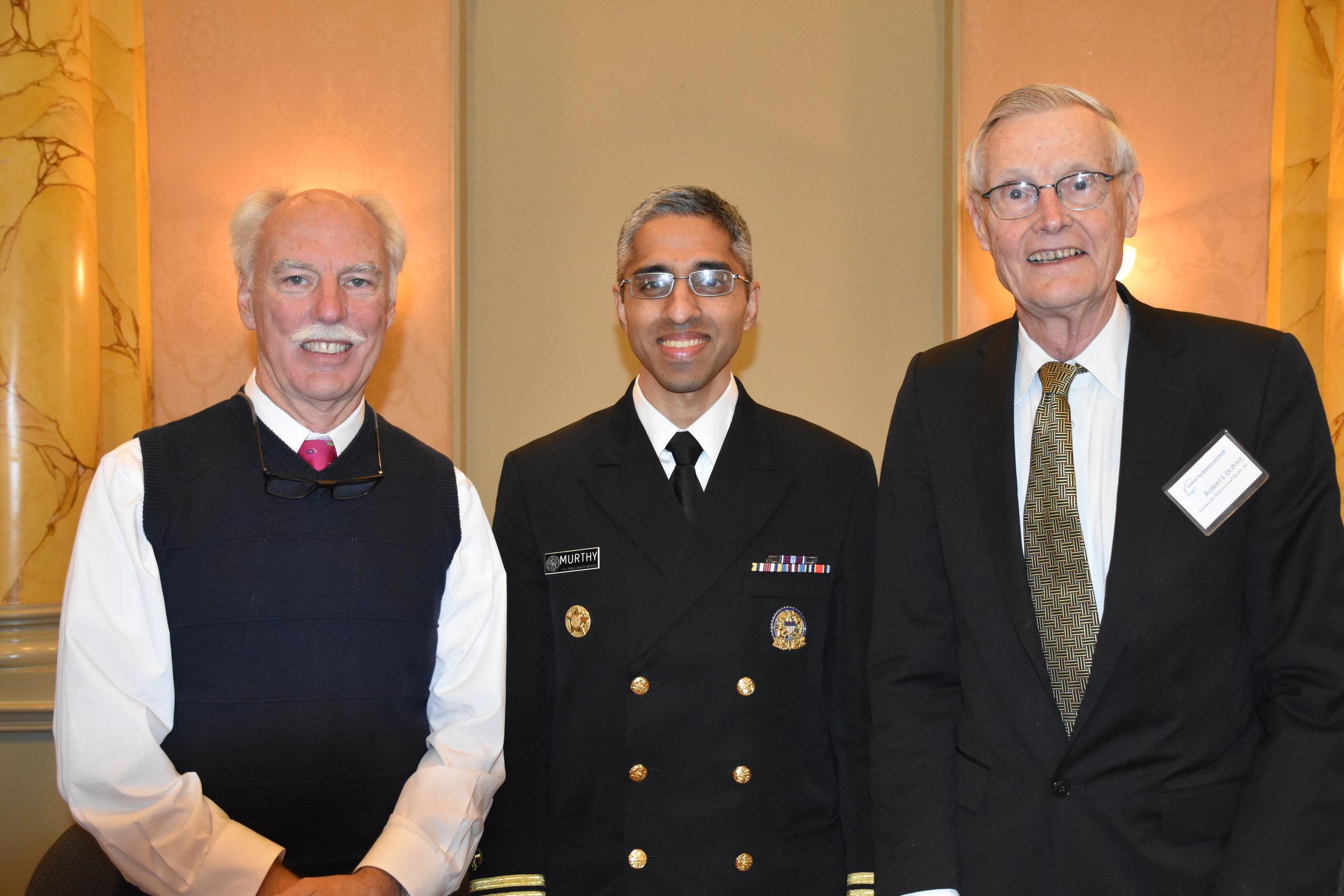 Drs. McLellan, Murthy and DuPont