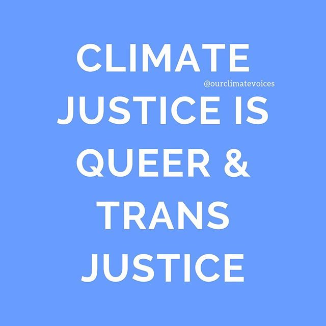 Interested in why we focused on queer & trans liberation in the first episode of our listening series? Swipe ⬅️ • Link in bio (or on Apple Poscasts / Spotify) to listen to five queer & trans climate justice advocates discuss the intersection between queer & trans liberation and justice in depth ✨