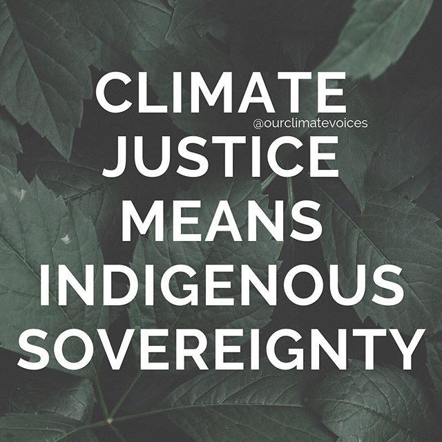 This summer, we're releasing a series of stories from powerful indigenous environmental defenders. Swipe ⬅️ to learn what we mean when we say Climate Justice Means Indigenous Sovereignty & why this is such a key principle of climate justice work.