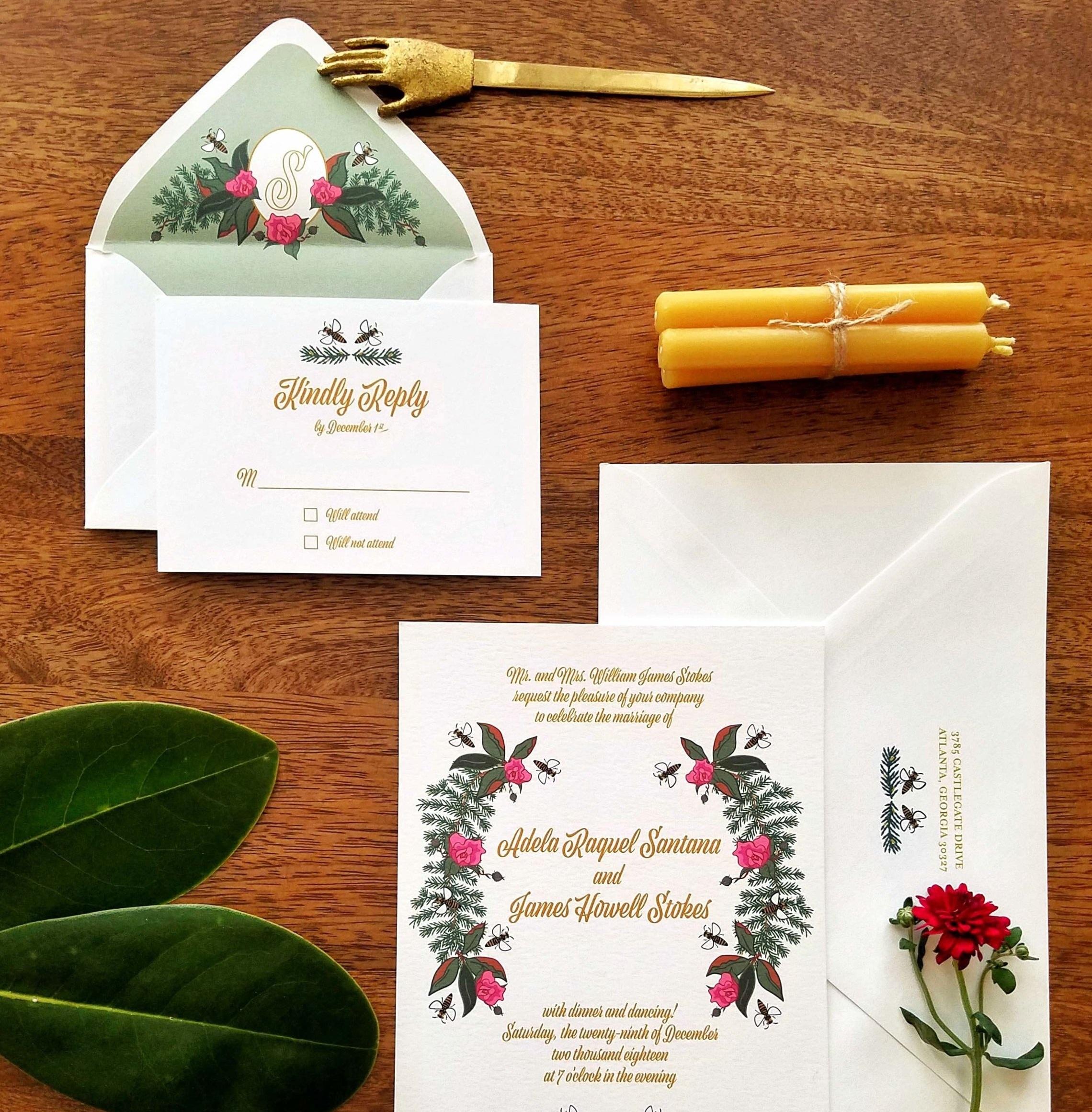 © Aesthete studio, custom wedding design