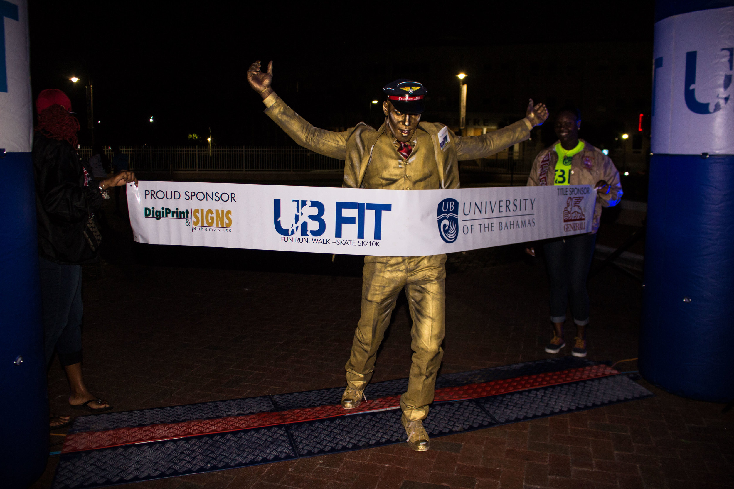 Say Yes Man at UB Fit