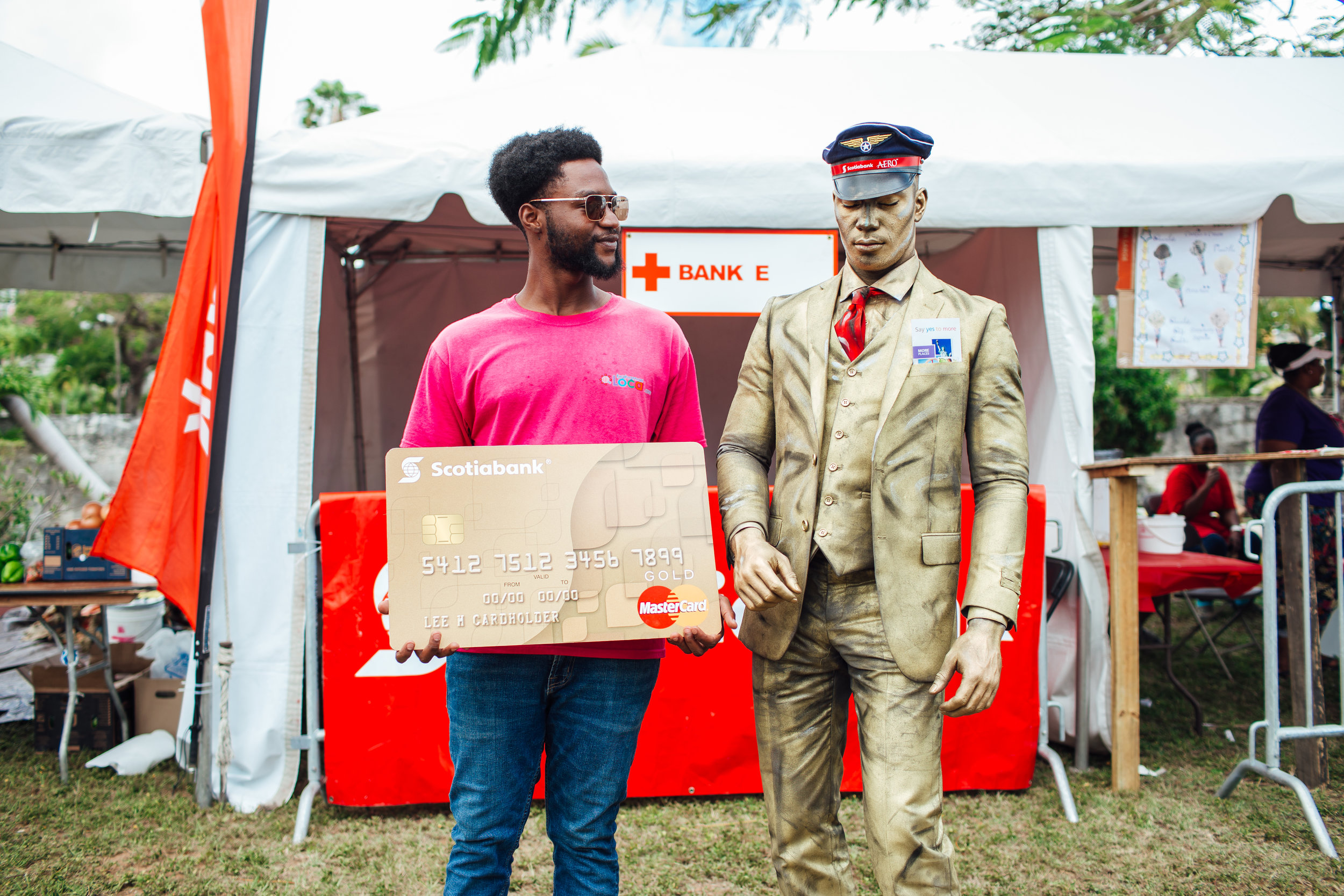 Say Yes Man at The Red Cross Fair 2018