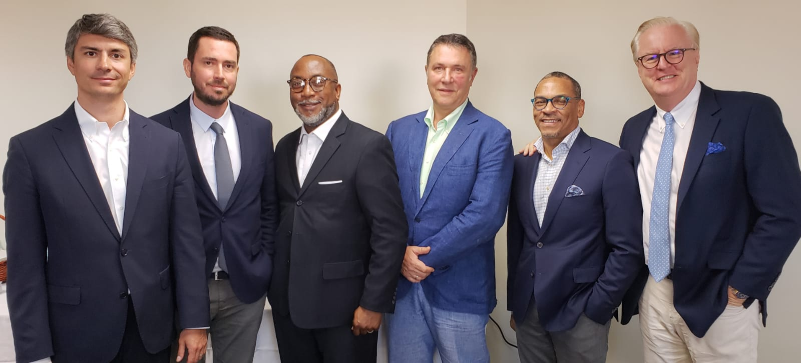 (From Left to Right) ,  Mr.   Caner Cevdet Akcali -  VP, Strategy and M&A  , Mr. Ali Kosklu -  Counsel & Office of the Chairman at Global Investment Holdings,  Mr.   Tasman Darling  - Managing Partner at Blue Orchid Advertising,  Mr. Mehmet Kutman  - Chairman at Global Investments Holdings,  Mr. Anthony Ferguson  - President and Founder at CFAL ,  Mr.   Colin Murphy  - Head of Business Development, The Americas