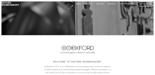 Oxfordironmongery.com
