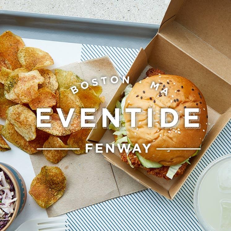 Fish Sandwich at Eventide Fenway, Boston, MA