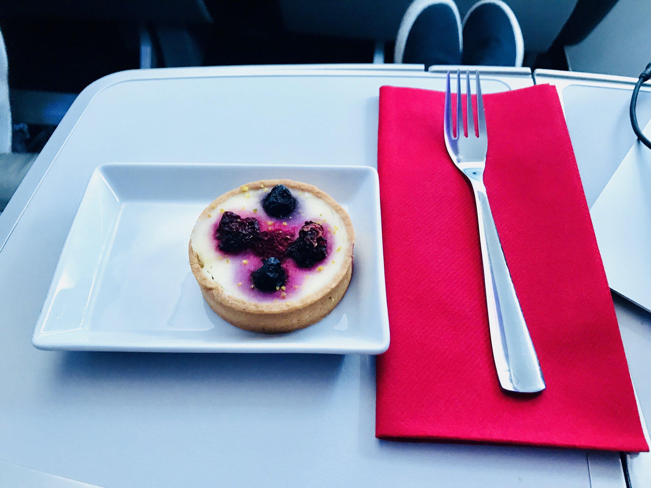 Crème Brulee Berry Tart