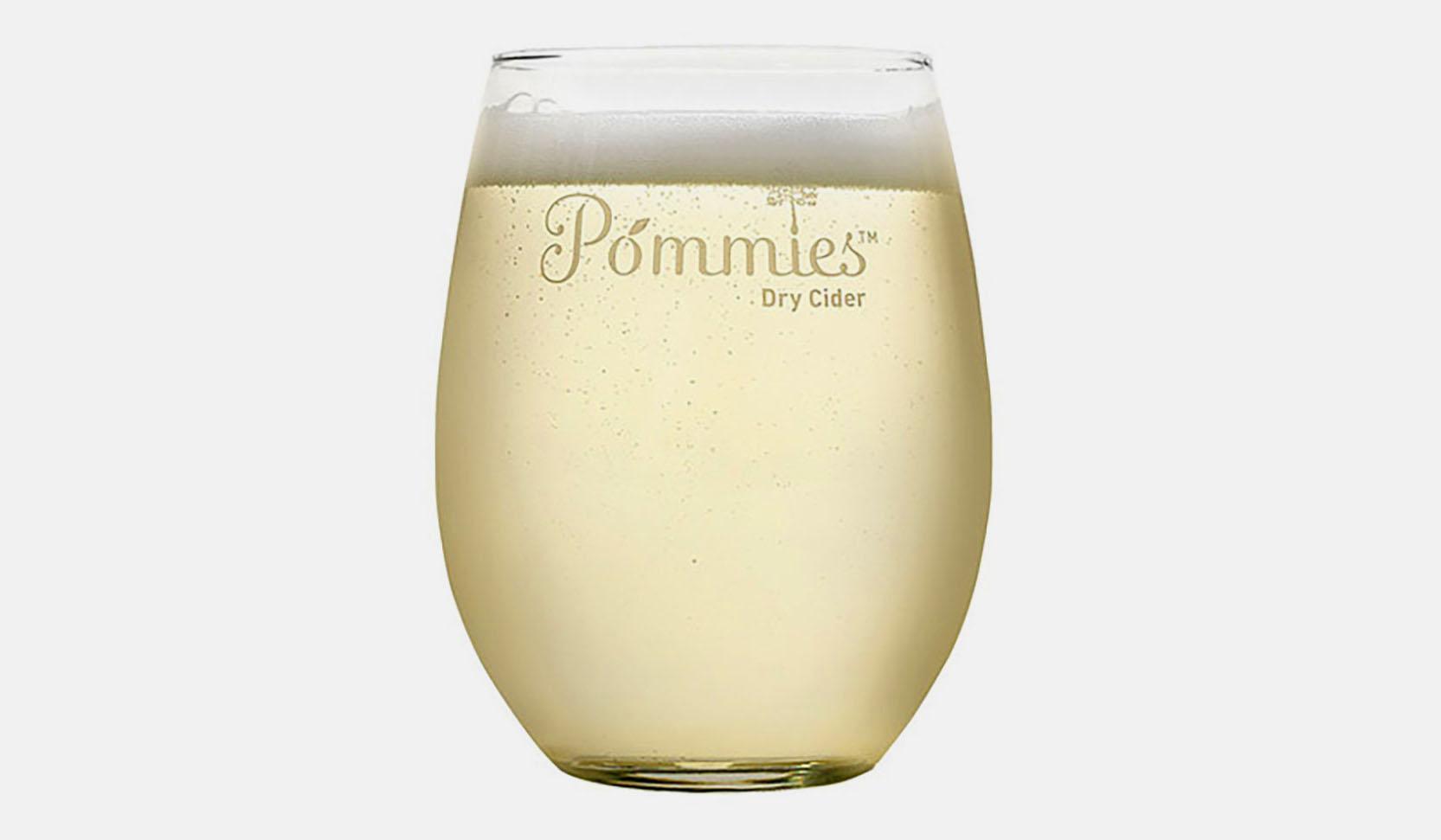 POMMIES GLASS -