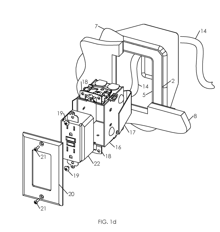 Vapor barrier ceiling seal apparatus.png