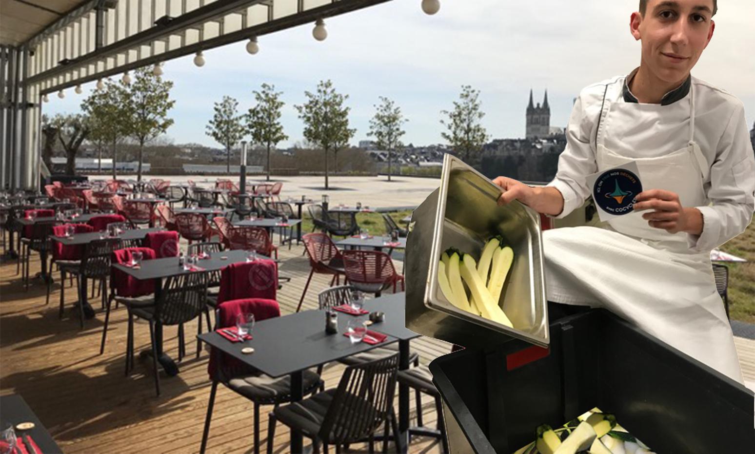 La Réserve - Envie de partager une cuisine bistrot et créative sur le plus beau Rooftop d'Angers ? La Réserve vous offre une cuisine raffinée, inventive,gourmande et de saison ! A la carte ou à l'ardoise, les cuisiniers savent sublimer les fruits et légumes pour les marier aux poissons et viandes de qualité. Situé au 5ème étage du théâtre Le Quai, le panorama sur la Maine et le château est parfait pour un verre ou un repas convivial !RDV au Boulevard Henri Arnaud à Angers - 5ème étage du Théatre Le Quai