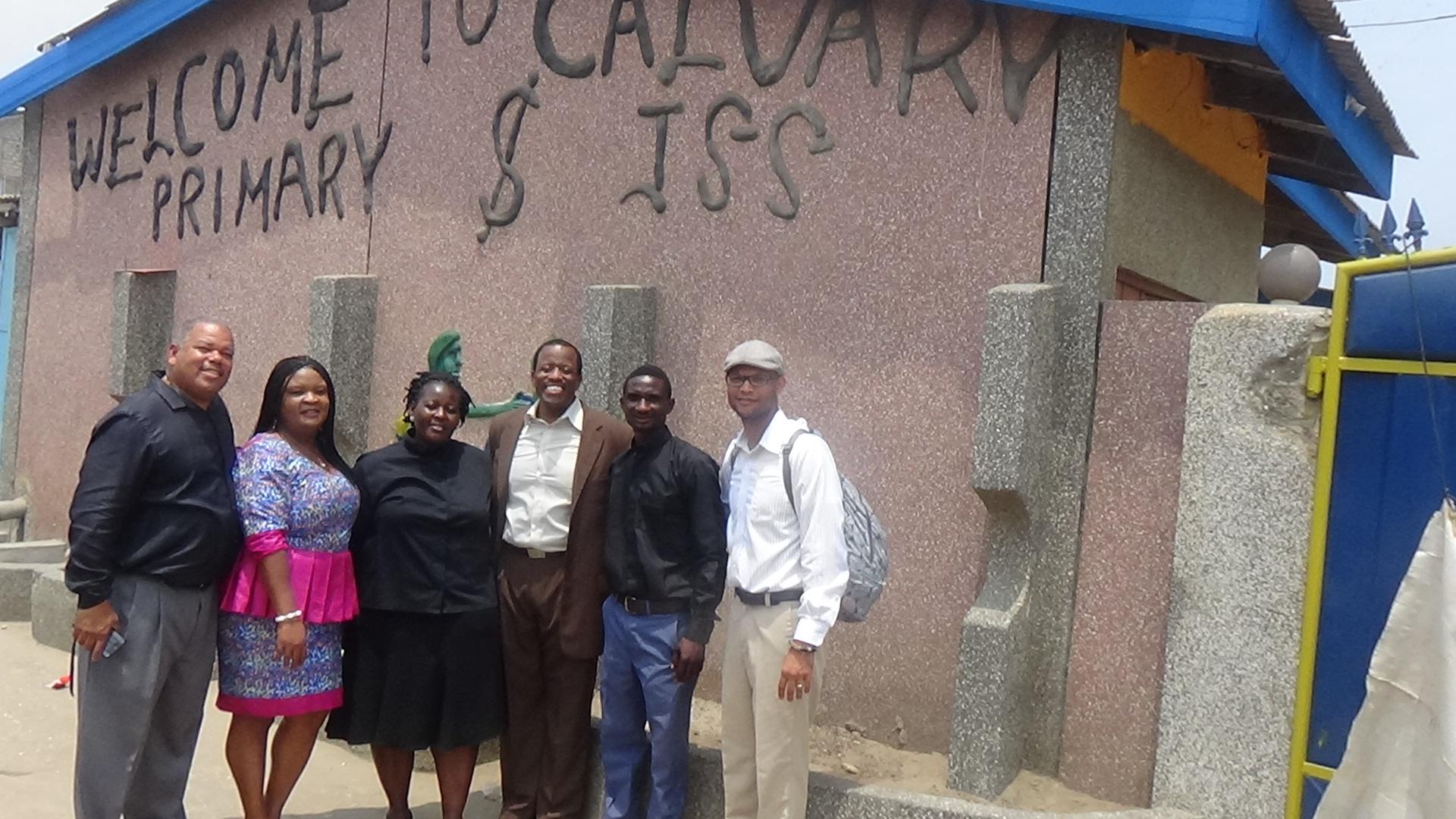 NHCOG Ghana in Calvary School.JPG
