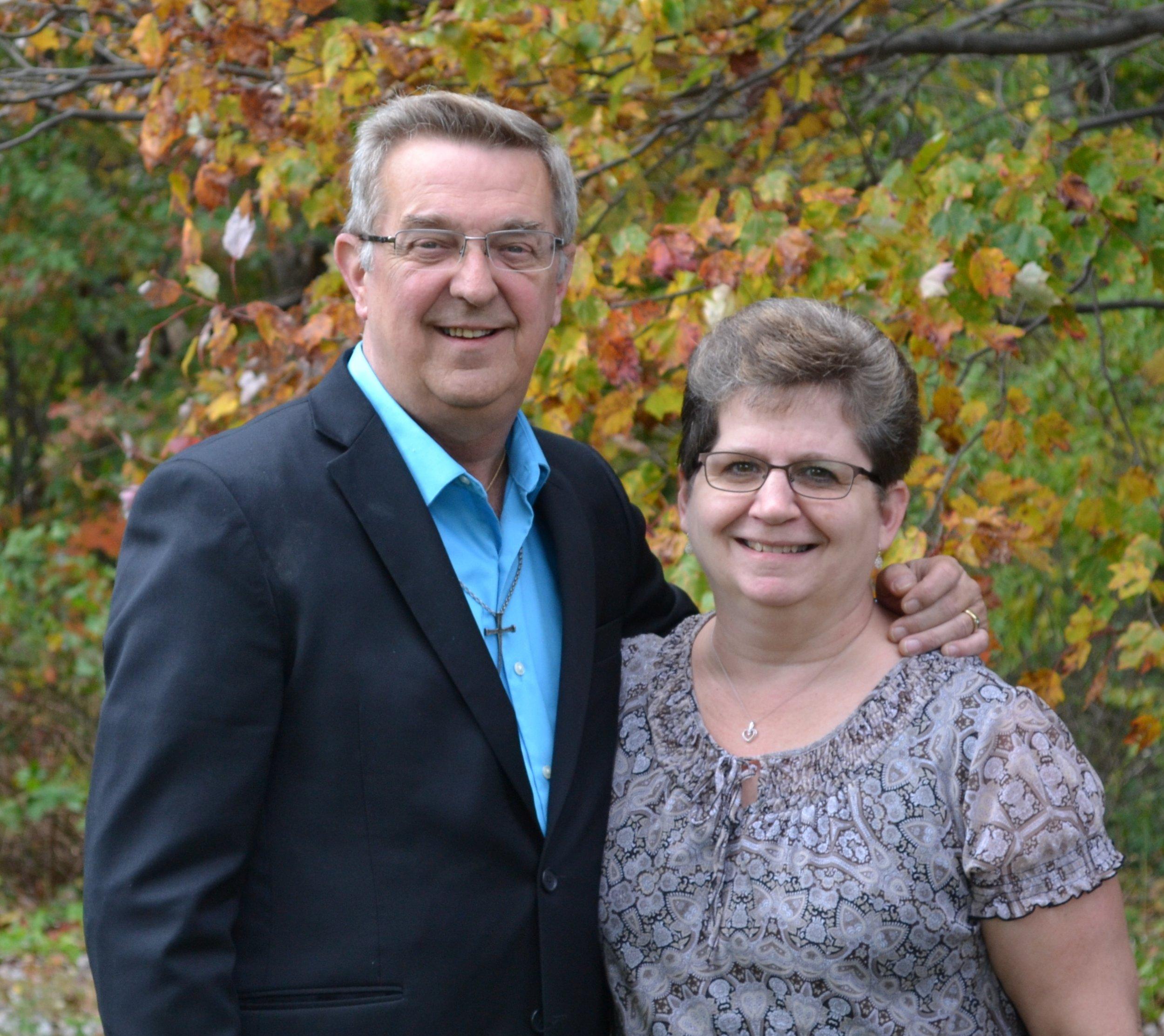 Dan & his wife, LInda