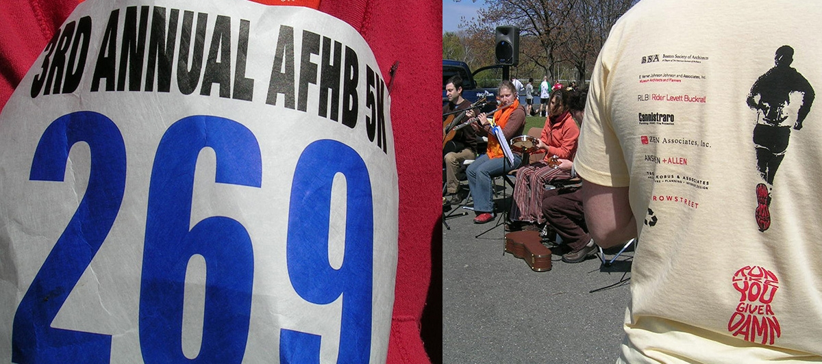 Coordination team of 5K race with Architecture for Humanity- Boston chapter