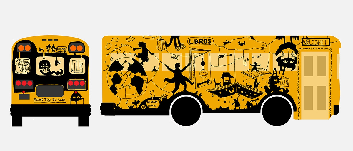 Illustration for mobile library for the Nobelity Project
