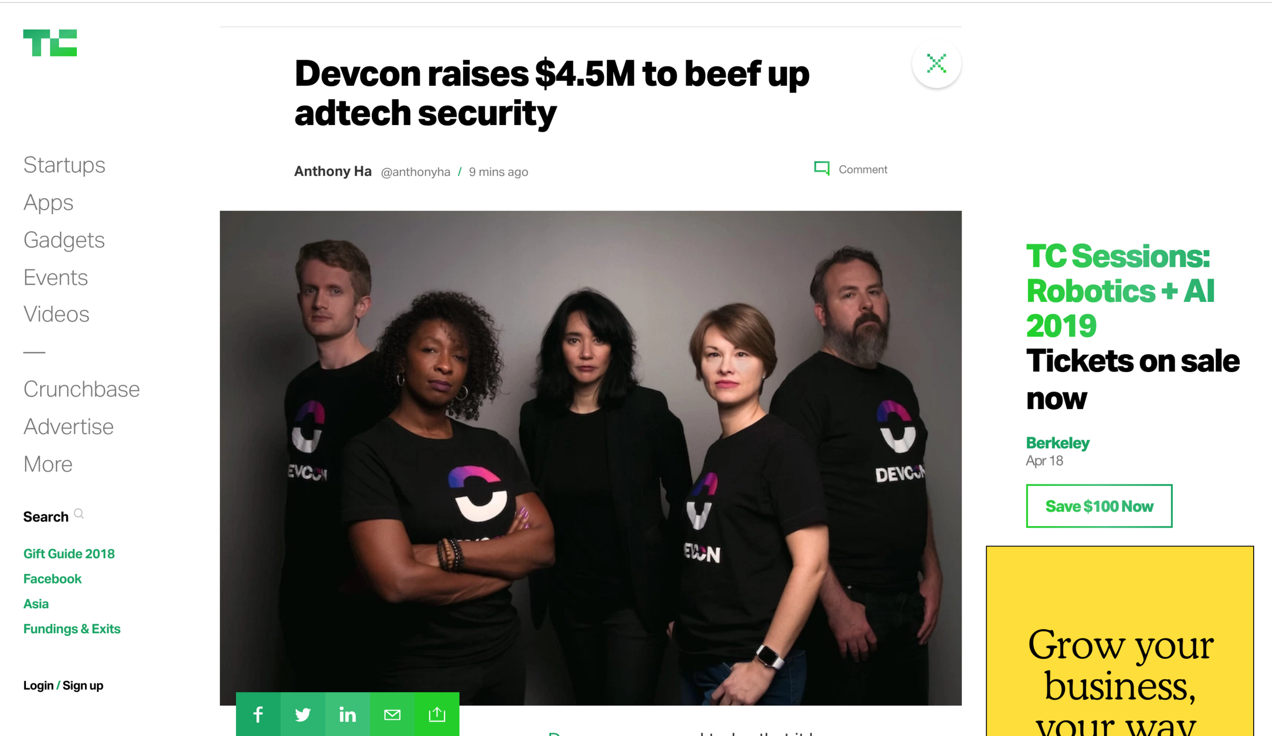 DEVCON raises $4.5M to stop cyber fraud