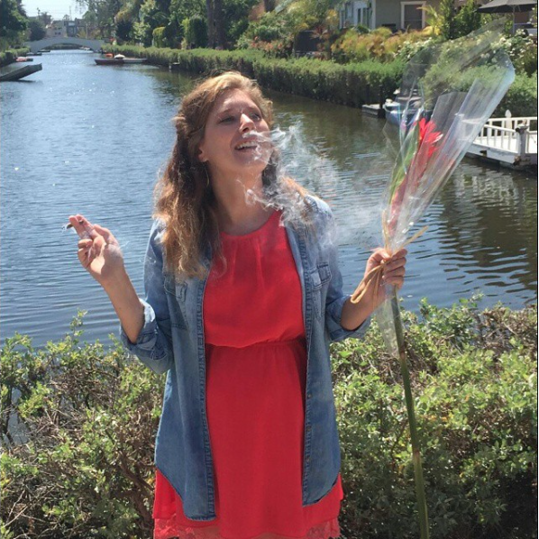 2015 :: Venice Canals ::On a romantic day date smoking blunts