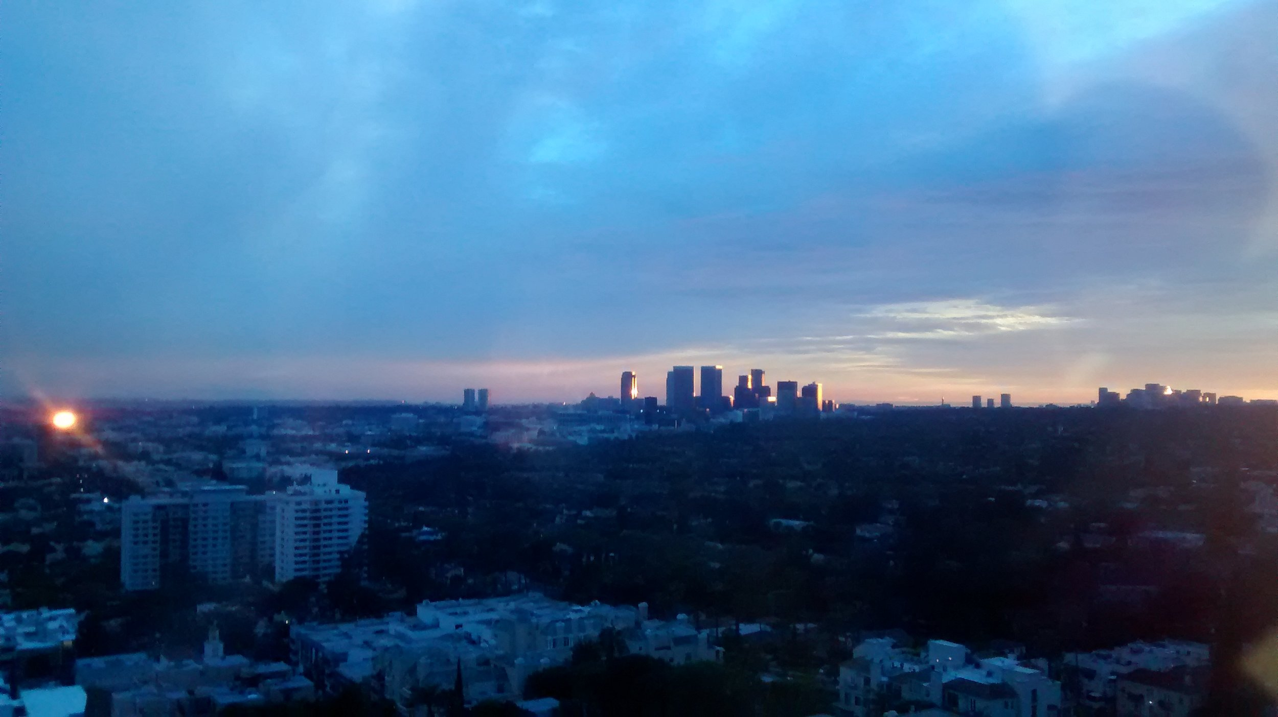 2014 :: West Hollywood ::Views from my office on the 15th floor of 9000 Sunset Blvd