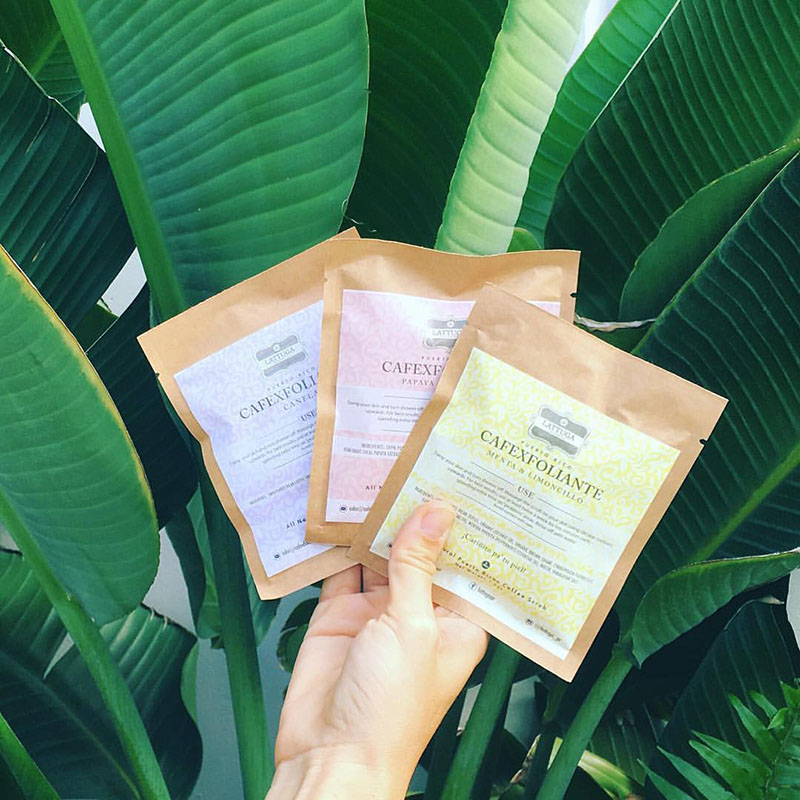 Papaya Infused Coffee Scrub -