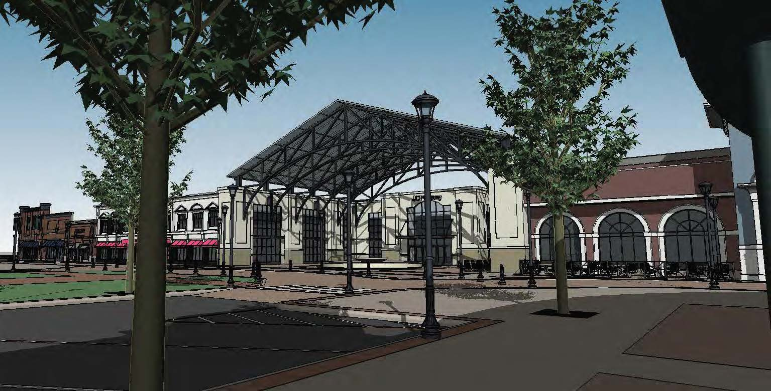 Concord Town Center Rendering,