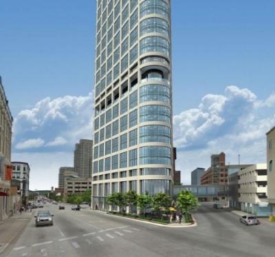 Hinman Tower rendering