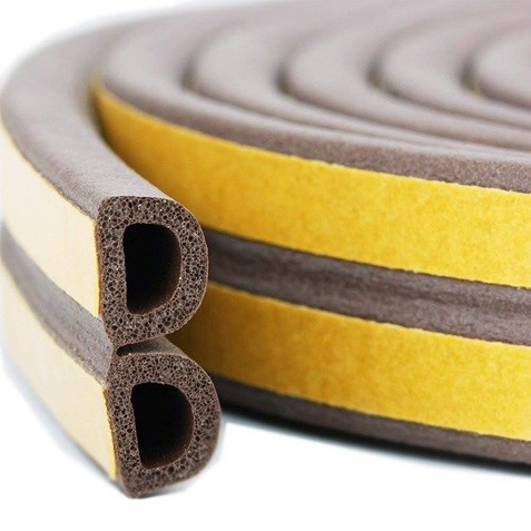 New smooth surface EDPM foam seal