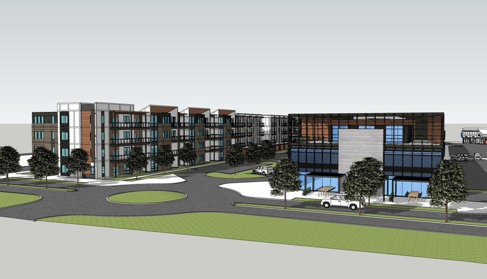 The full Grandview Phase II Development