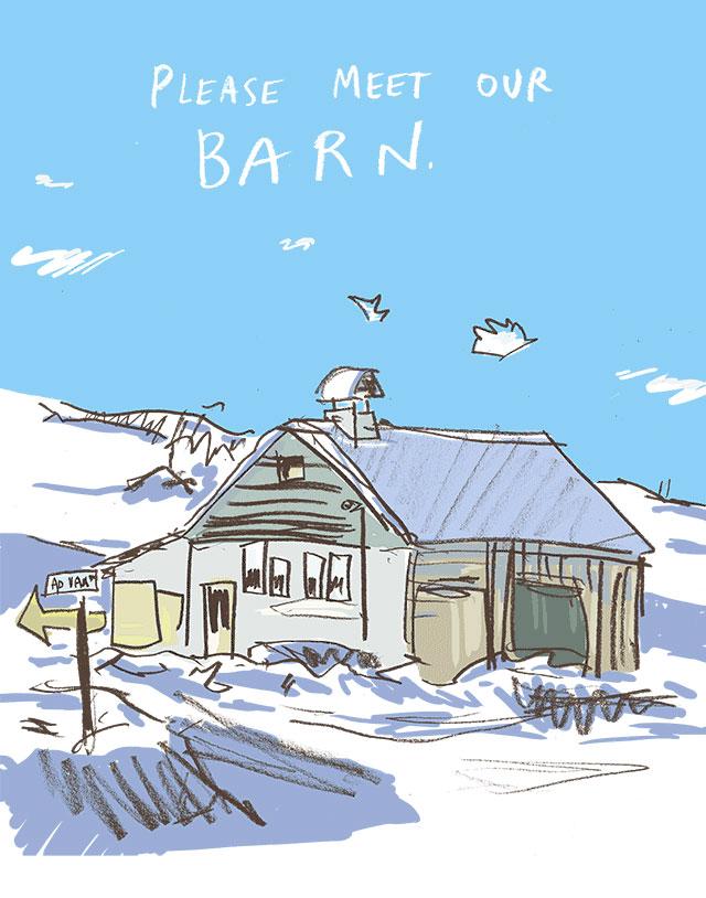 Drawing a Barn