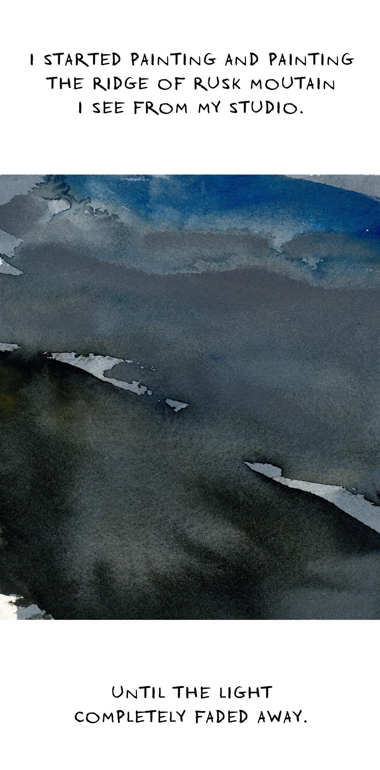 A Watercolor Requiem